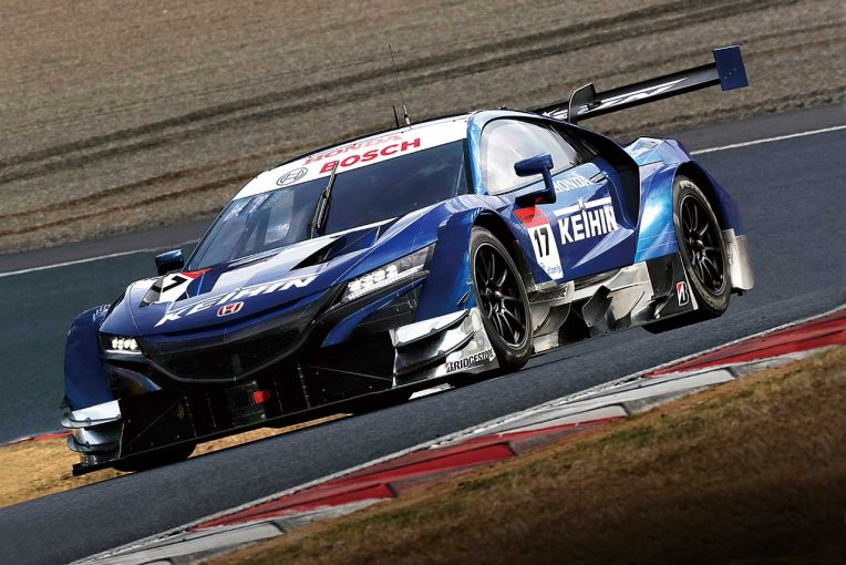 スーパーGT | スーパーGT:GT500は全車FRで新時代へ。岡山テストで好調のトヨタ&ホンダ、トラブルが多かったニッサン