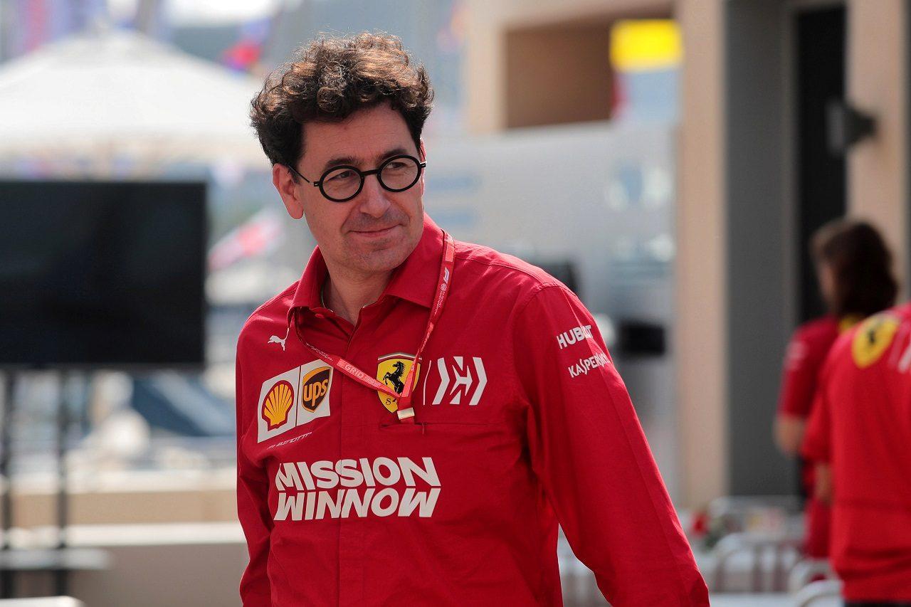 フェラーリ代表マッティア・ビノット