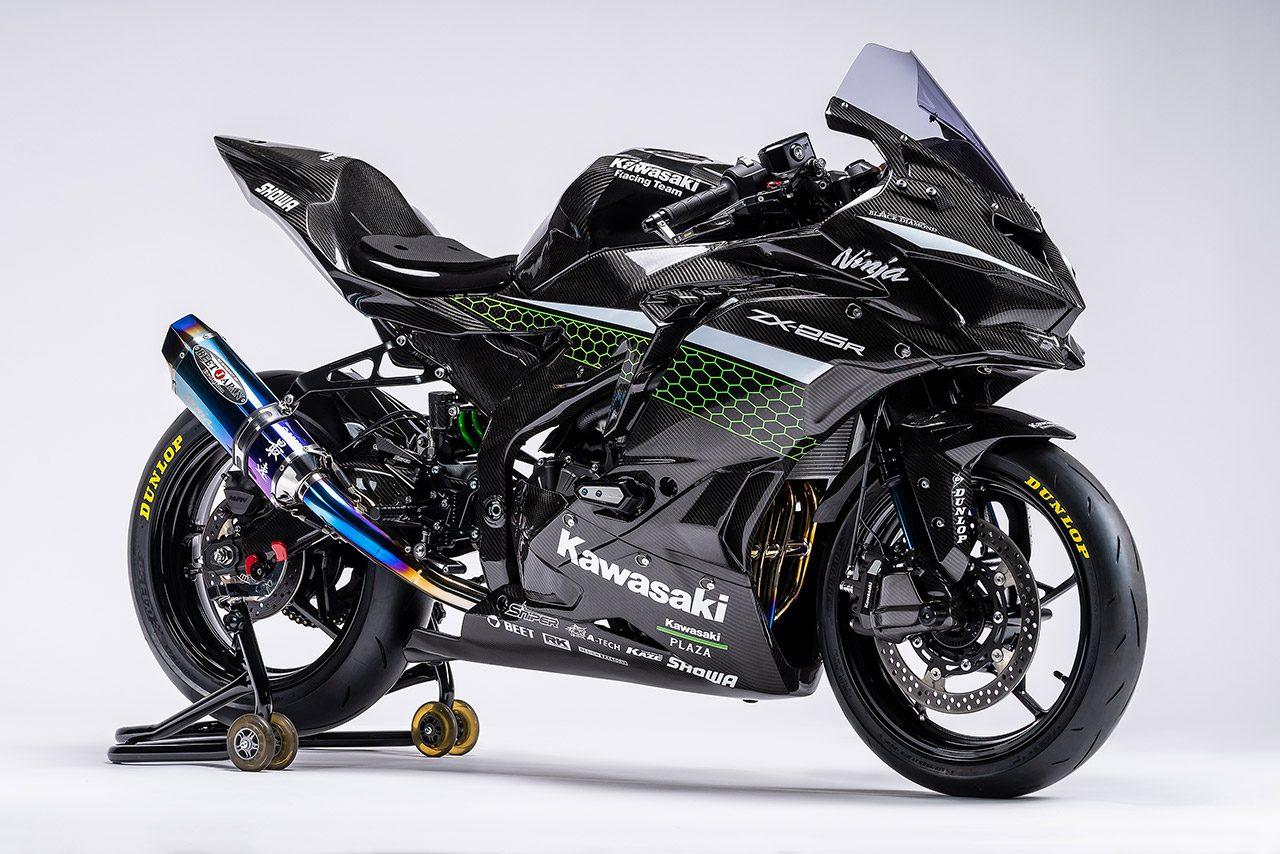 カワサキ『Ninja ZX-25R』にレースイメージ車両登場。2021年にはワンメイクレースも開催へ
