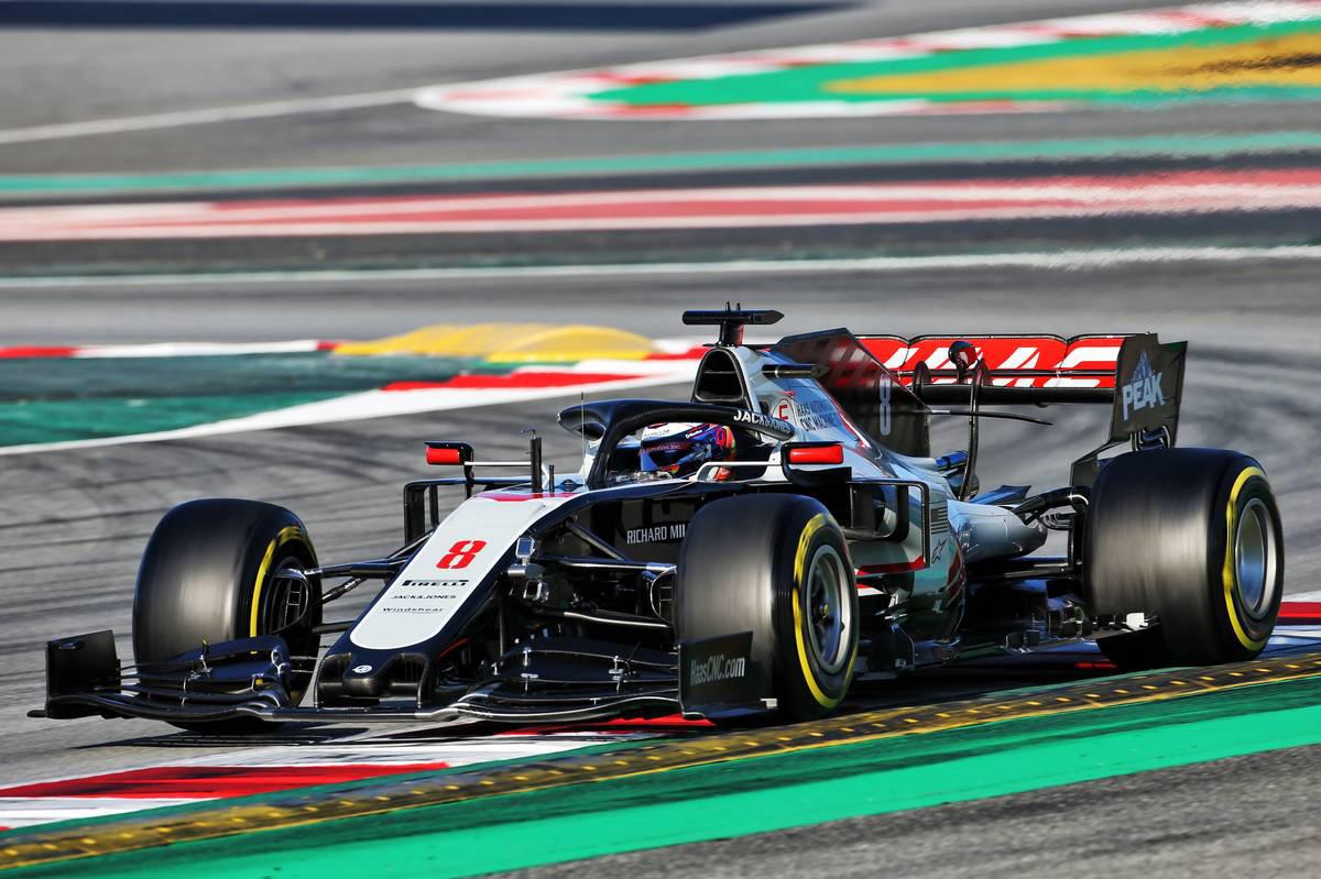 2020年F1第2回バルセロナテスト3日目 ロマン・グロージャン(ハース)