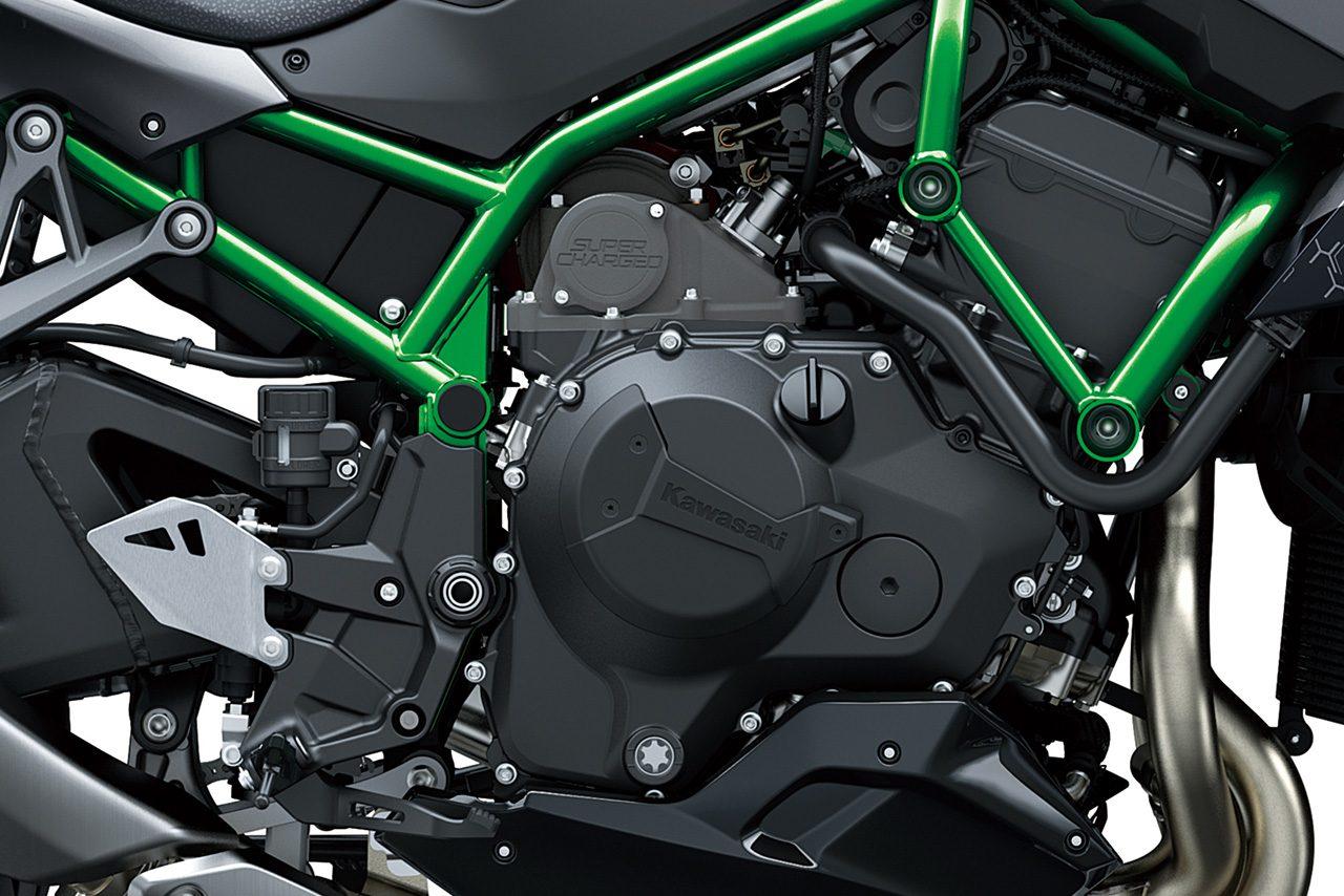 カワサキ、ネイキッドモデル『Z H2』を4月4日発売。スーパーチャージャー搭載で200馬力発揮