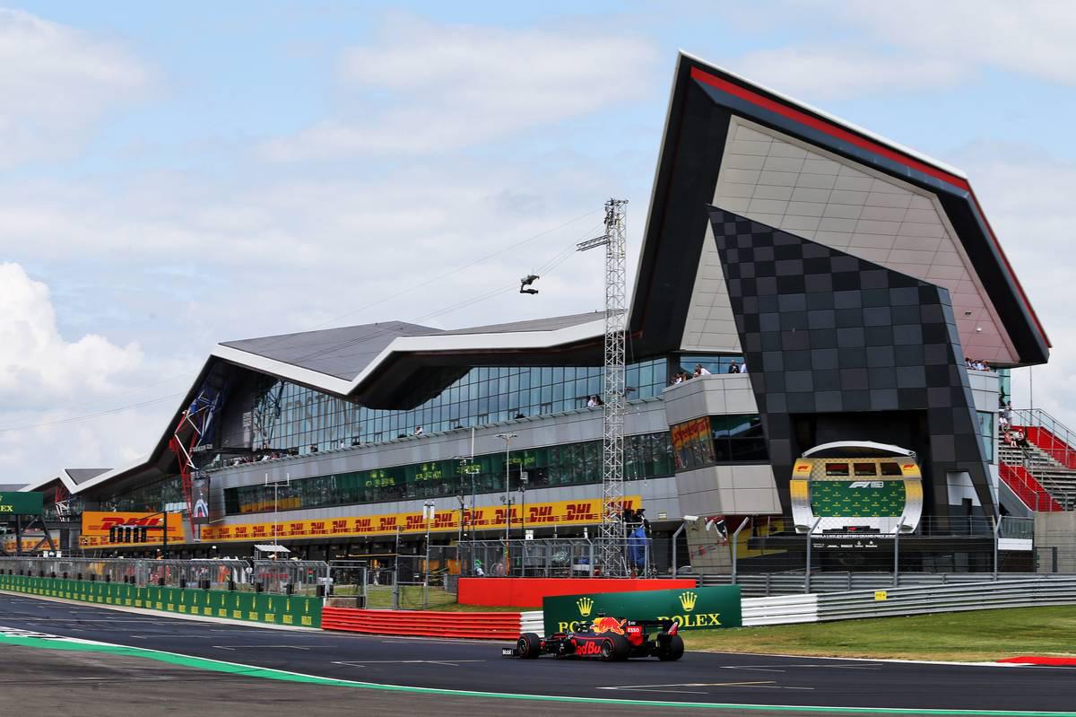 2019年F1第10戦イギリスGP マックス・フェルスタッペン(レッドブル・ホンダ)