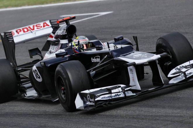 2012年F1第5戦スペインGPで自身初優勝を飾ったパストール・マルドナド(ウイリアムズ)