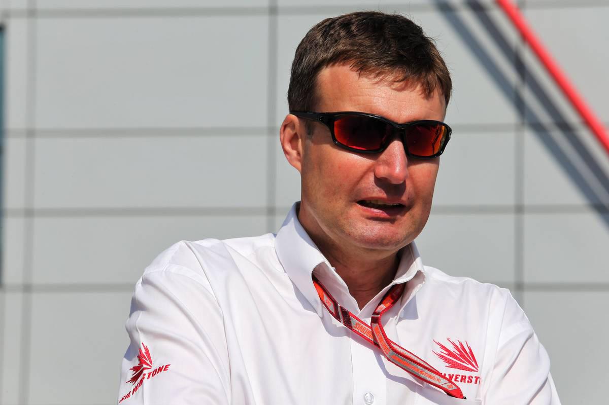2018年F1第10戦イギリスGP スチュアート・プリングル(シルバーストン・サーキット マネージングディレクター)