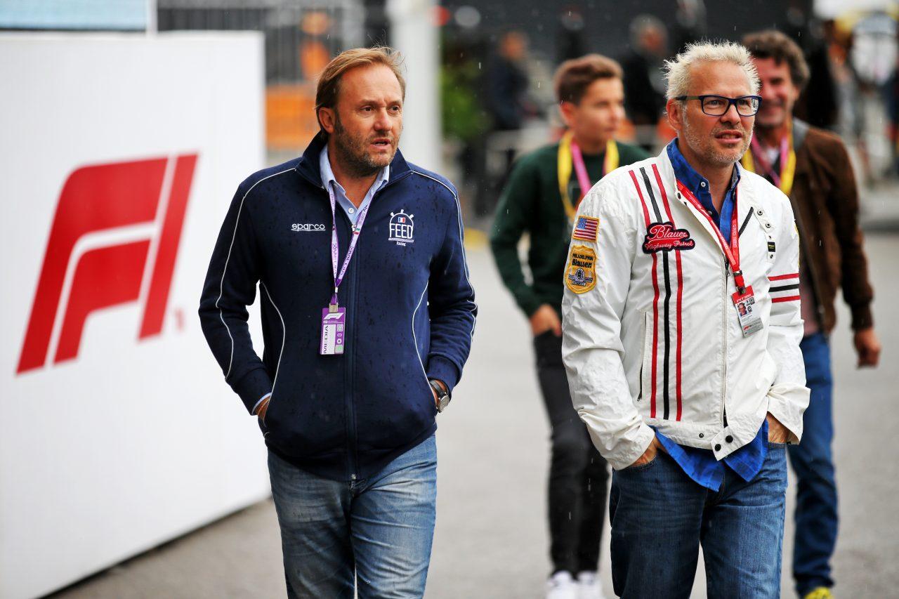 2019年F1イタリアGPでのビルヌーブ