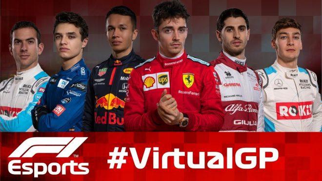 2020年F1バーチャルGP第2戦オーストラリア