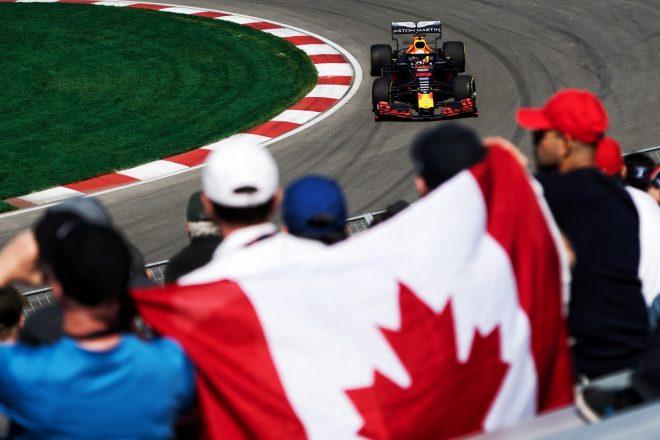 2019年F1カナダGPでのマックス・フェルスタッペン(レッドブル・ホンダ)