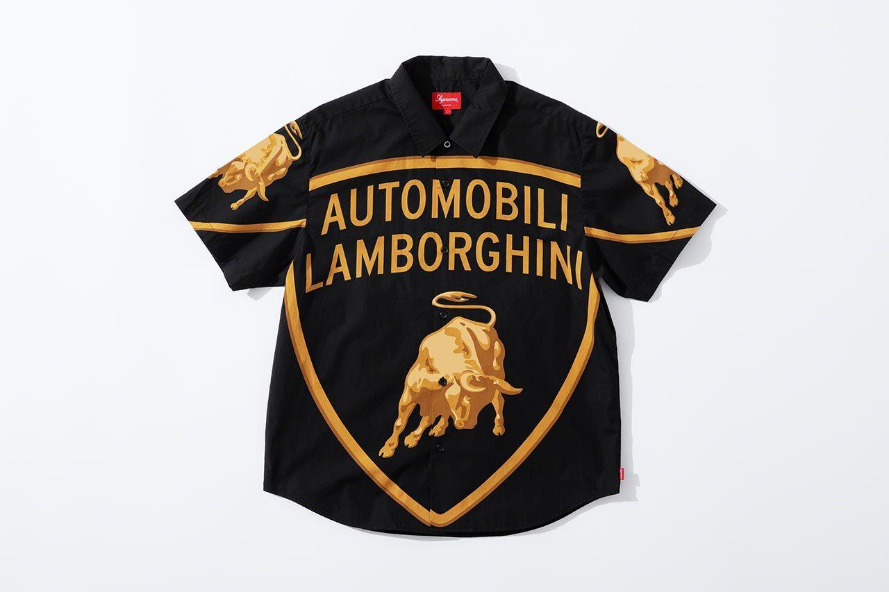 猛牛好きはマストバイ。ランボルギーニ×シュプリームのコラボコレクションが誕生