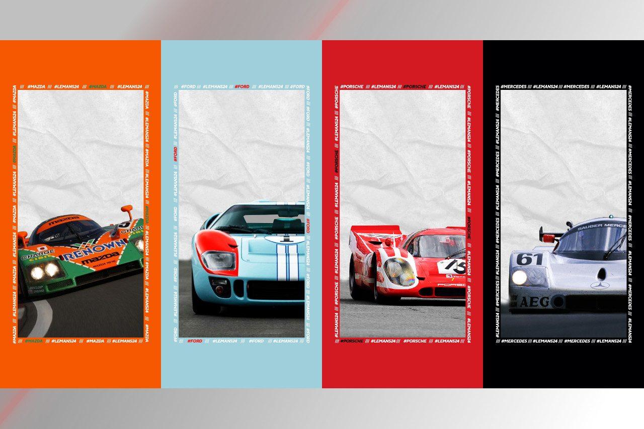 ル マンの名車が壁紙に マツダ フォード ポルシェ メルセデス あなたのお気に入りは ル マン Wec Autosport Web