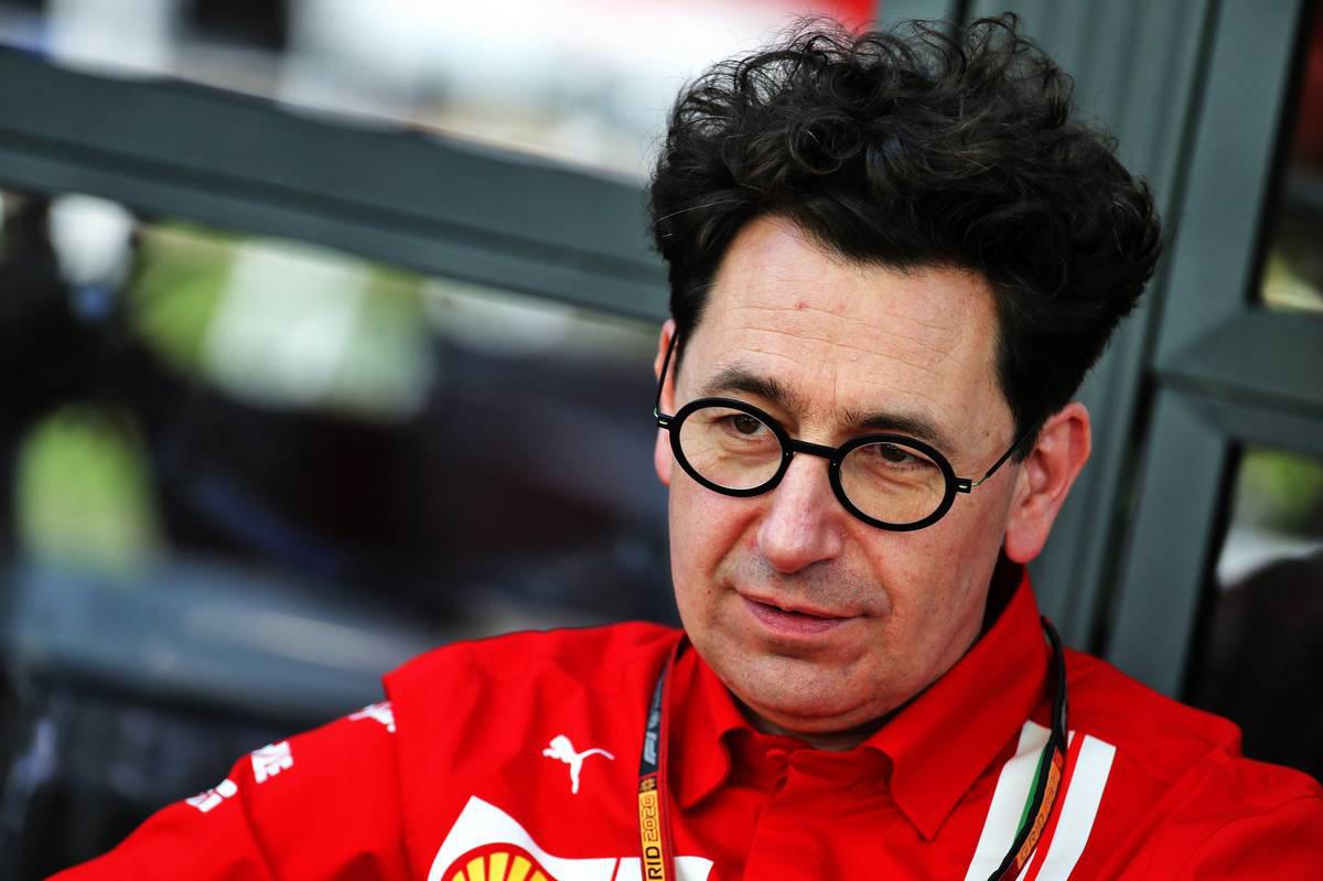 2020年F1開幕戦オーストラリアGP マッティア・ビノット(フェラーリ チーム代表)