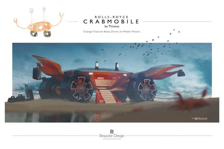 クルマ   ロールス・ロイスが16歳以下対象のデザインコンペを開催。優勝者へのプライスレスな贈り物とは?/オートスポーツweb的、世界の自動車
