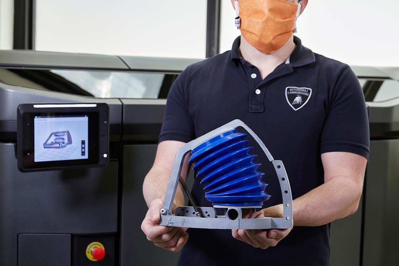 ランボルギーニ、新型コロナウイルス対策へイタリアの人工呼吸器メーカーを支援