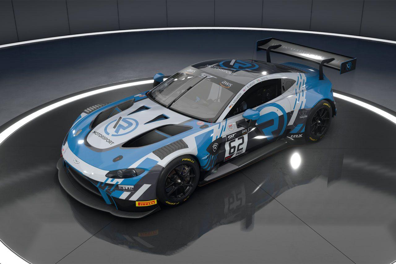 FFFレーシング、ベントレーが『SRO・Eスポーツ』参戦を表明。Rモータースポーツも追随