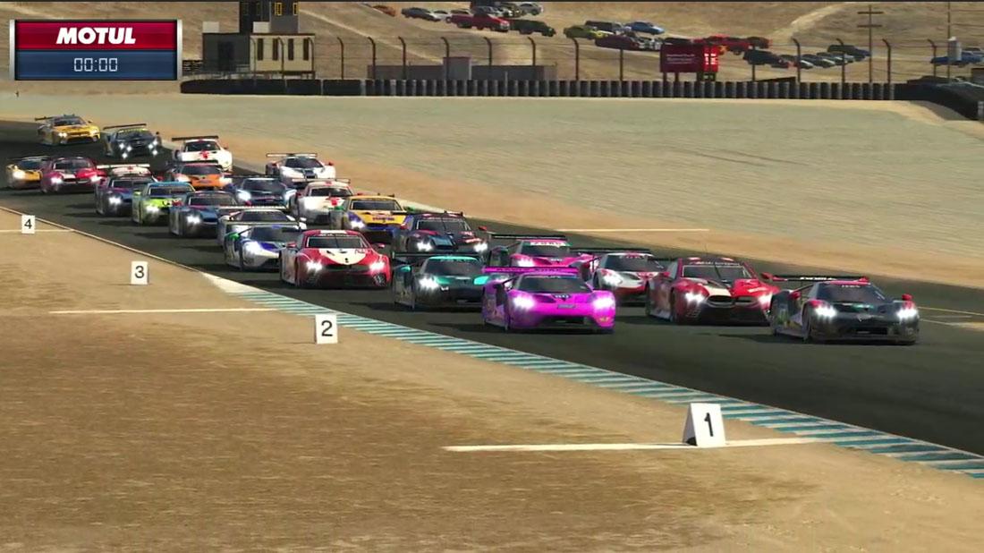 ドラマチックなレースをBMWのシュペングラーが逆転で制す/IMSA iRacing Proシリーズ第2戦