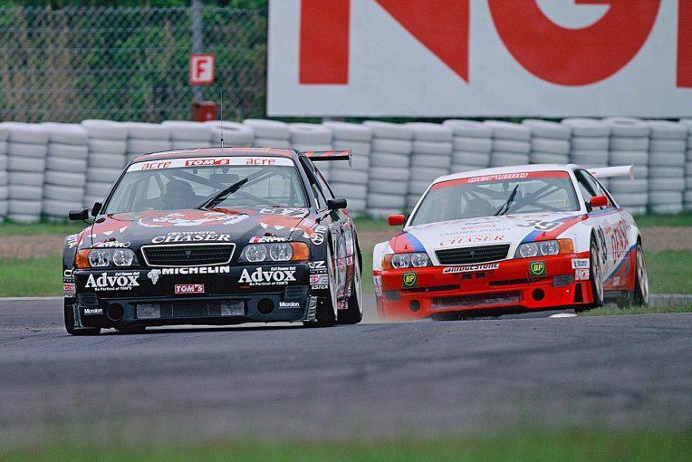 国内レース他   JTCCラストチャンピオン、トヨタ・チェイサーの挑戦「タイヤを100%使うためにFRを選んだ」