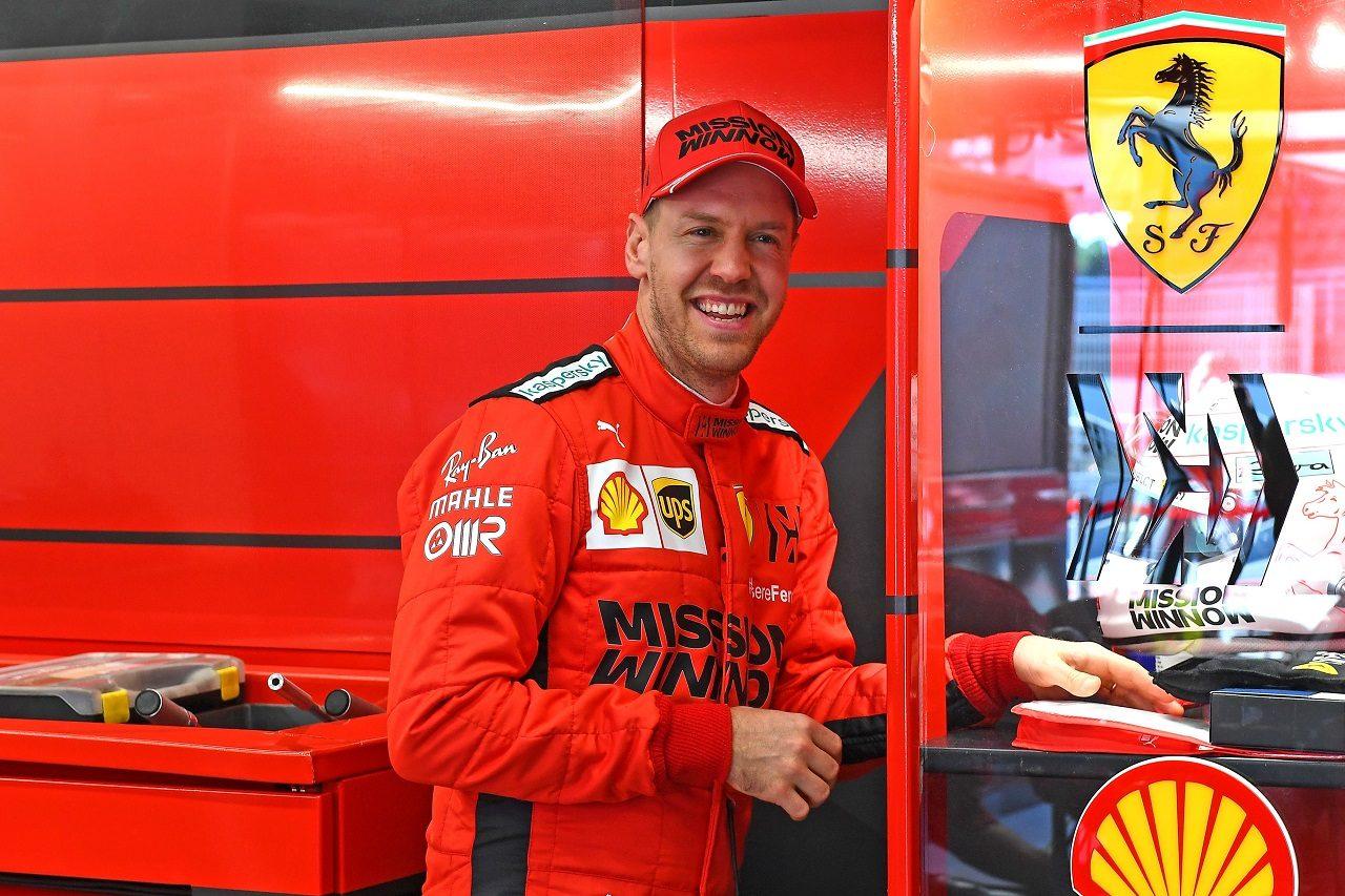 2020年F1プレシーズンテスト セバスチャン・ベッテル(フェラーリ)