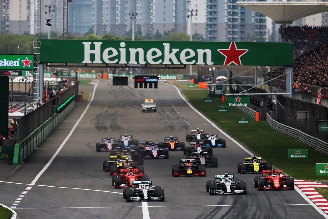 2019年F1中国GPスタート