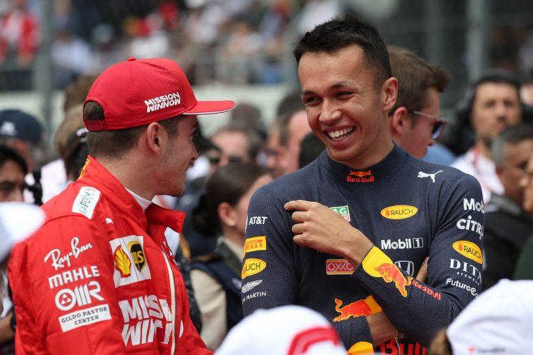 F1 | チャリティeレース選手権でルクレール兄弟&アルボン兄弟がトップ4に。約780万円の寄付金集まる