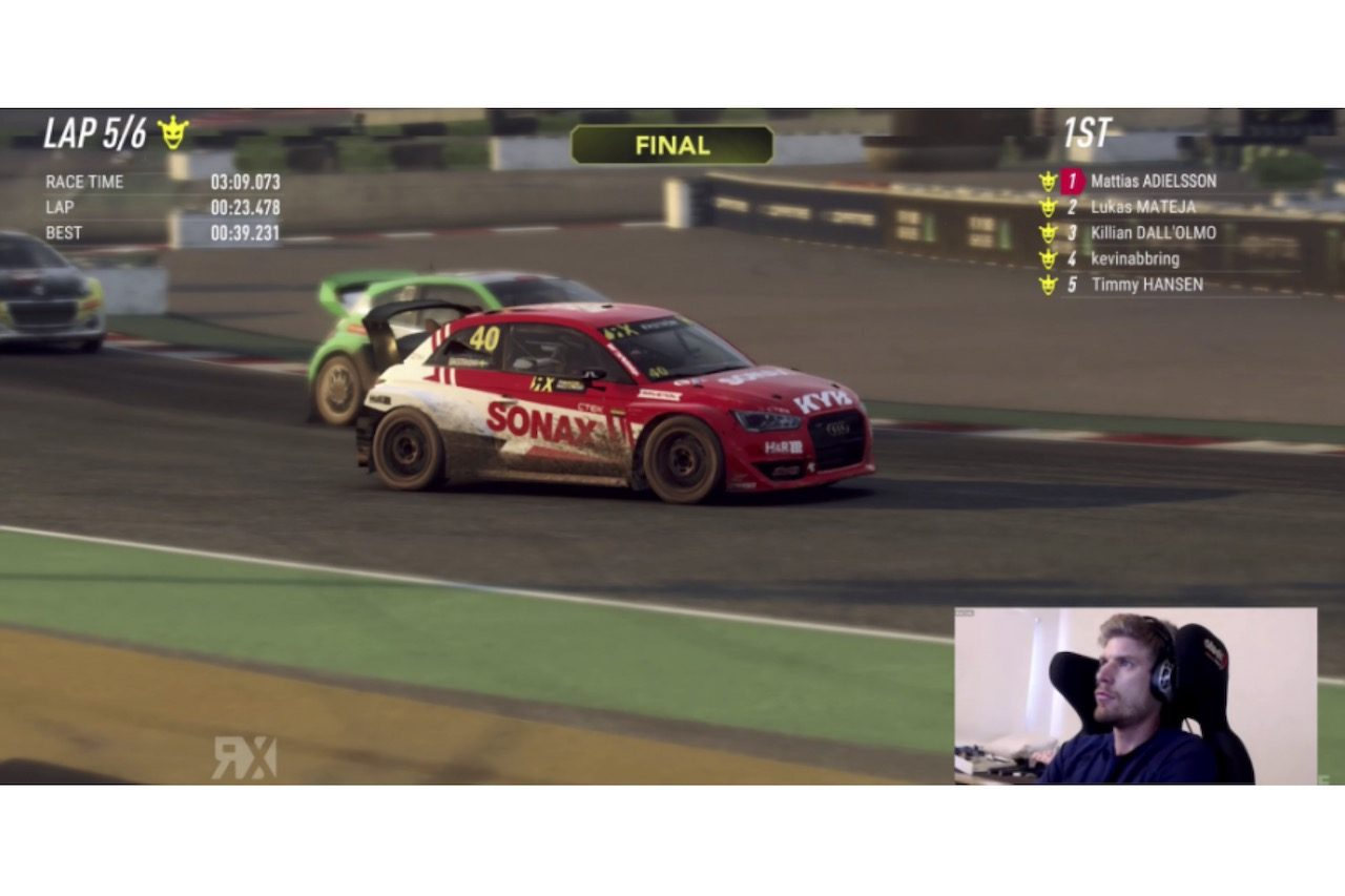 "WorldRX:eシリーズ開幕戦は""リアルドライバー""の北欧出身ラリーストが勝利"