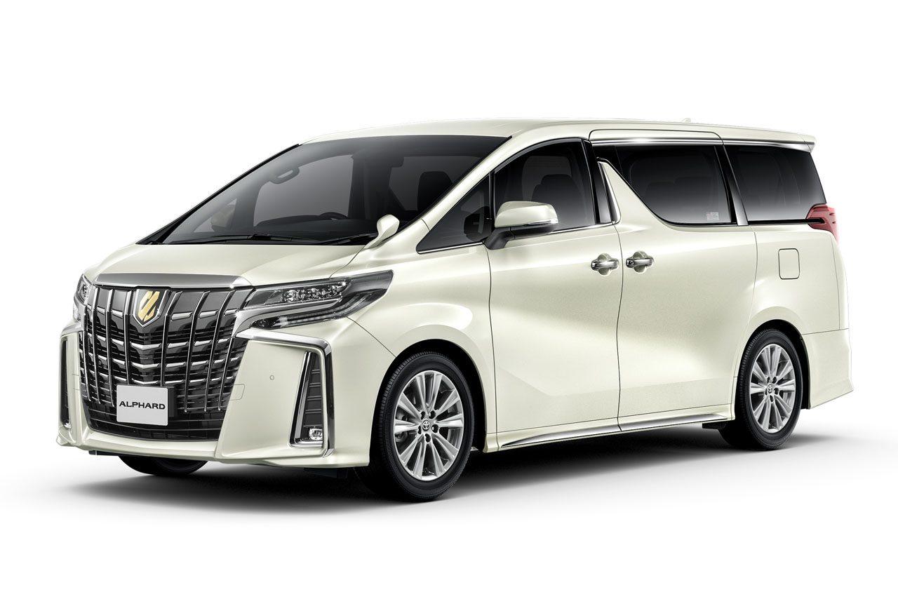 トヨタ『アルファード』『ヴェルファイア』にゴールド加飾の特別仕様車。5月1日発売