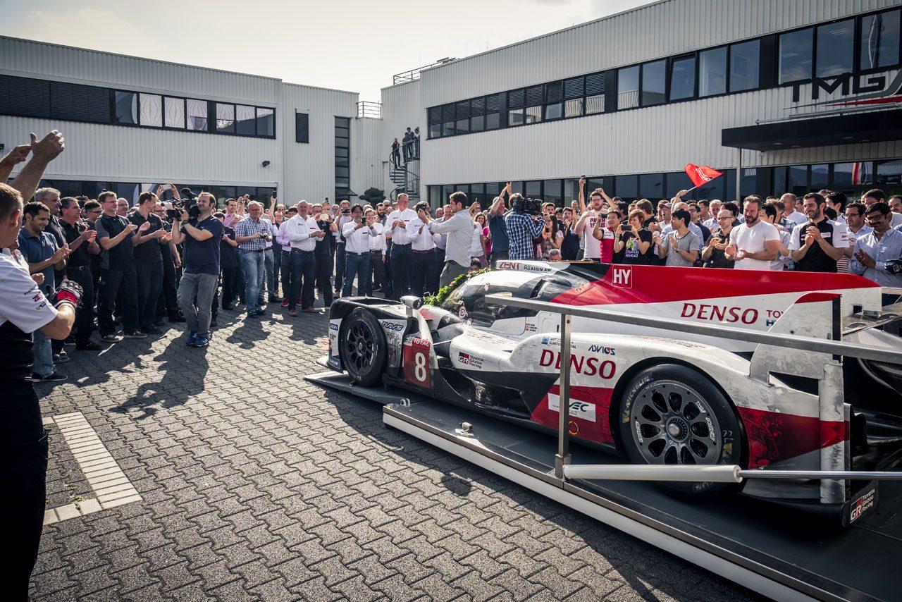 「勝つためのプロ集団へ」トヨタ、TMGの社名を『TOYOTA GAZOO Racing Europe』に変更