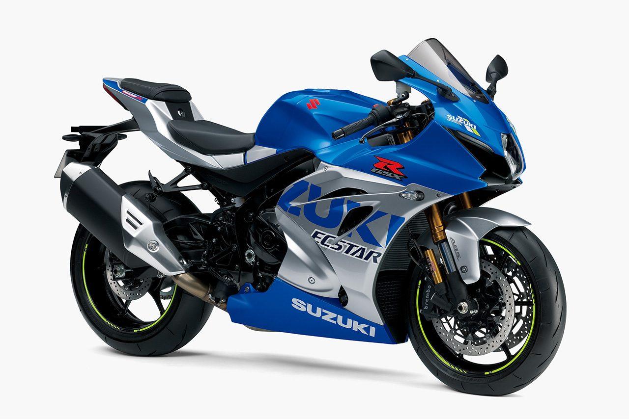 スズキ、創立100周年記念カラーの『GSX-R1000R ABS』を4月24日より発売。MotoGPマシンのカラーリングがモチーフ