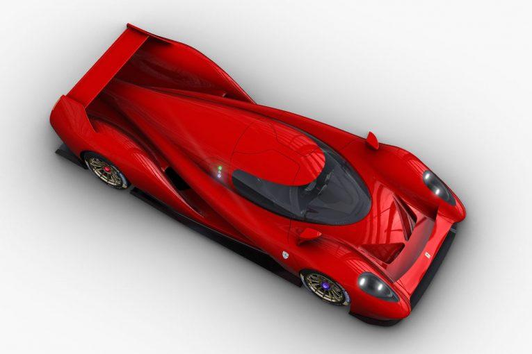 ル・マン/WEC   WEC:グリッケンハウス、ハイパーカー『SCG 007』にピポ・モチュール製V8エンジンを採用