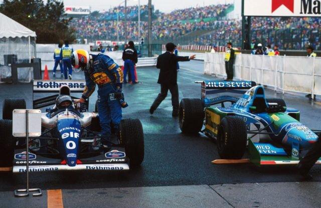 F1、1994年日本GPを無料配信:大雨で2ヒート制のタイムレースに ...