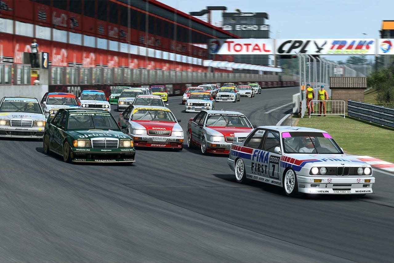 DTMが5月からeスポーツを開催。『RaceRoom』を使ってリアルドライバーとSIMレーサーが争う