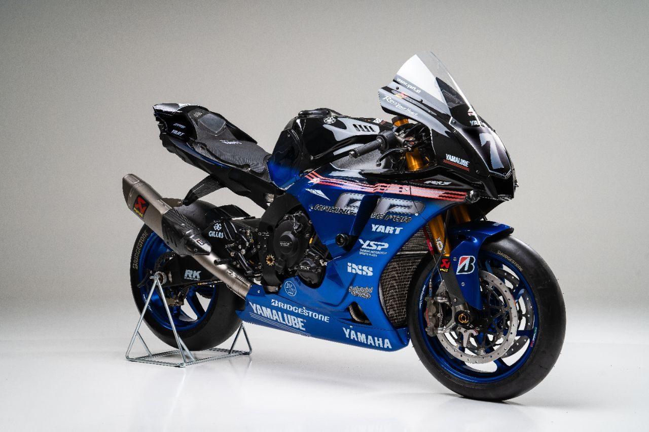鈴鹿8耐:YARTヤマハがYZF-R1のニューカラーリングを公開「表彰台に挑戦することは可能」