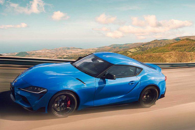 クルマ | スープラの3リッターエンジンモデル『RZ』に改良型。限定27台の特別色、100台の特別仕様車も