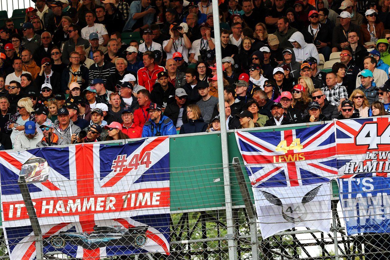 2019年F1イギリスGP観客席