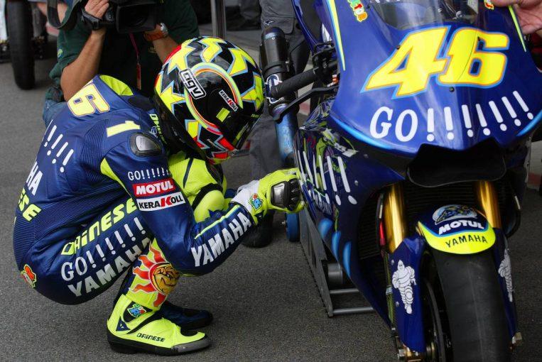 MotoGP   MotoGPの軌跡(3):2004年のヤマハ移籍後も無類の強さを発揮したロッシ