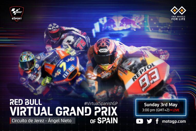 MotoGP   MotoGPバーチャルレース:第3戦は5月3日開催。3クラスの出場者も決定