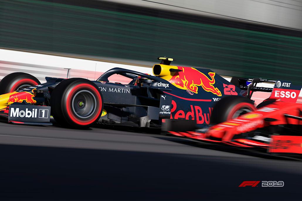 F1公式バーチャルGP第4戦ブラジル:アレクサンダー・アルボン(レッドブル)