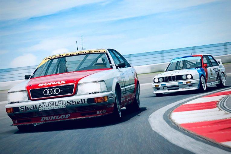 海外レース他 | DTM・Eスポーツ・クラシックチャレンジ第1戦ゾルダーは1992年らしい激しいレースに
