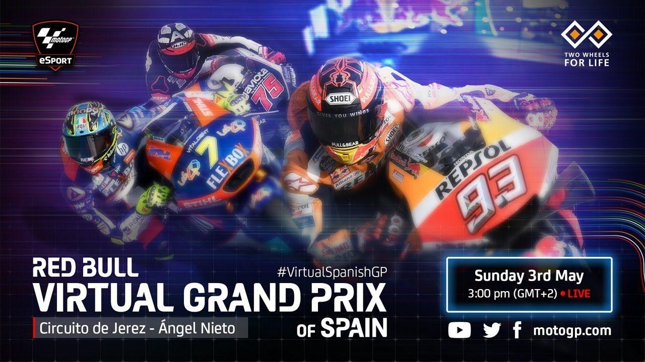 【動画】2020MotoGPバーチャルレース 第3戦スペインGP