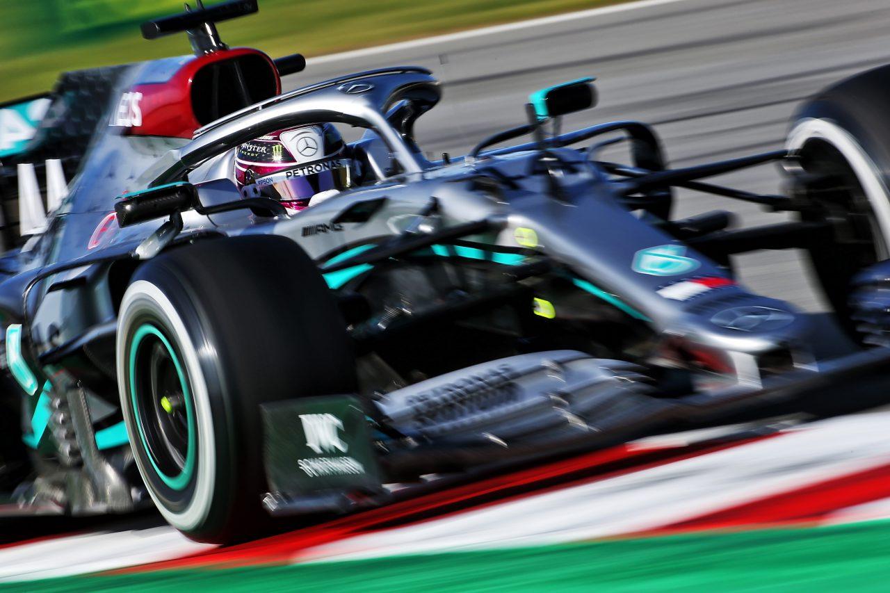2020年F1プレシーズンテストでのハミルトン