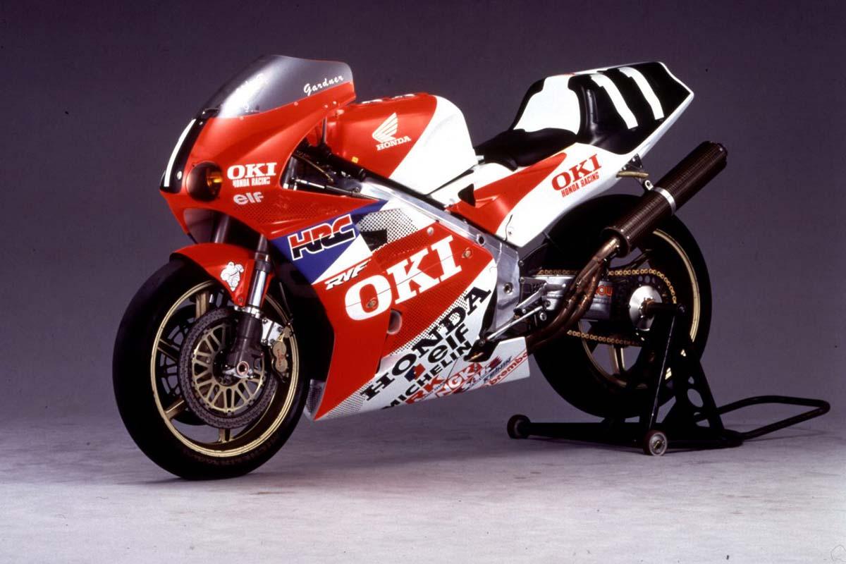 1991年鈴鹿8耐:ホンダRVF750