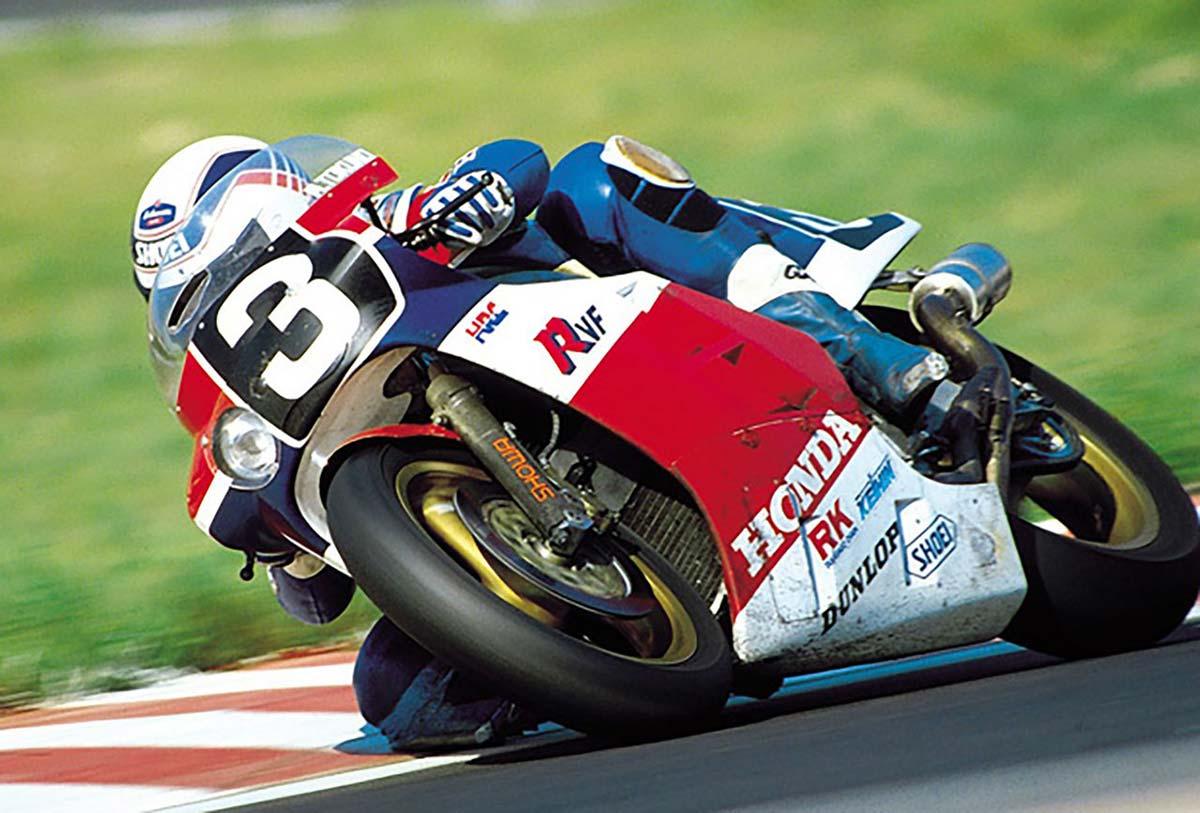1985年鈴鹿8耐:ホンダRVF750