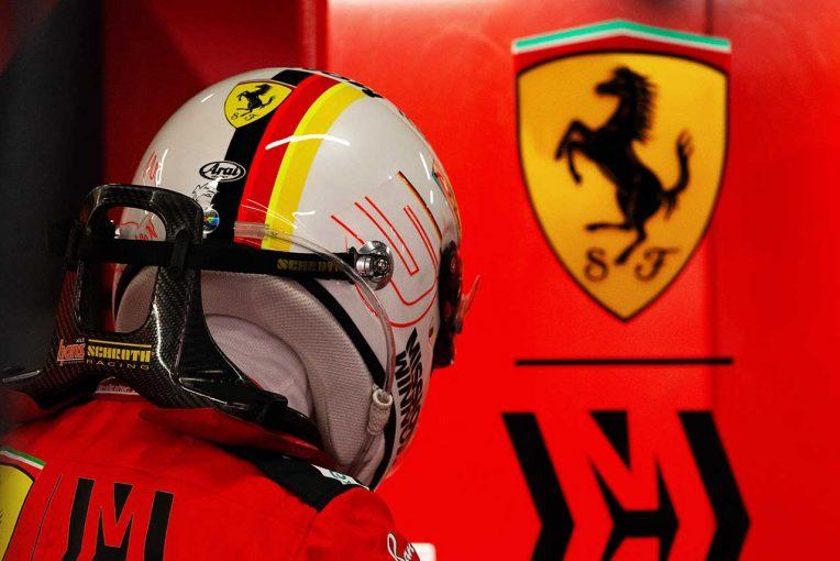 F1   フェラーリF1代表、ベッテルの貢献に感謝も「互いの理想へ別々の道を歩むべき時が来た」