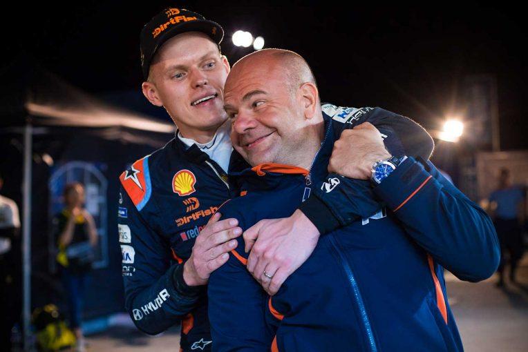 ラリー/WRC | WRC:王者タナク、ヒュンダイ移籍の要因は代表の性格「何事もはっきりと話してくれる人物」