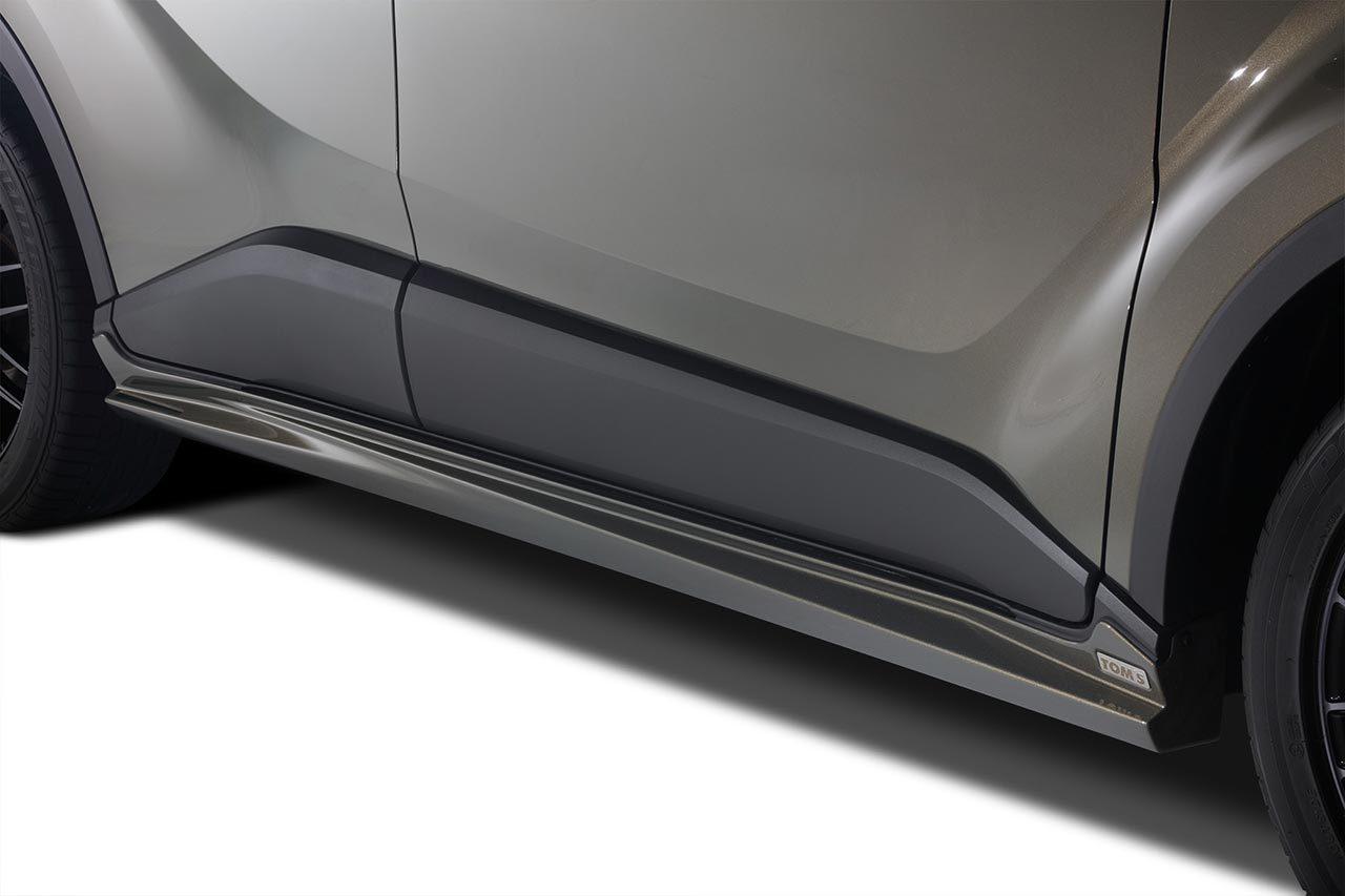 TOM'Sからワイド&ローテイストなトヨタC-HR後期用スタイリングパーツ発売開始