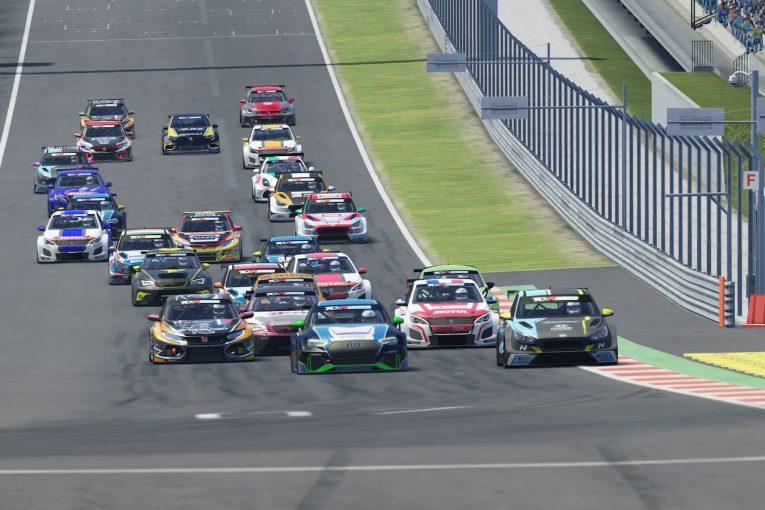 海外レース他 | 『TCRヨーロッパSIM Racing』第2戦はWTCR経験者が躍動。ナジーが開幕3連勝をマーク