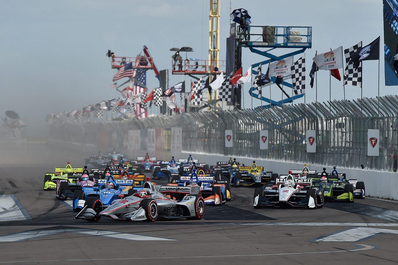 2019年インディカー・シリーズ開幕戦セント・ピーターズバーグ
