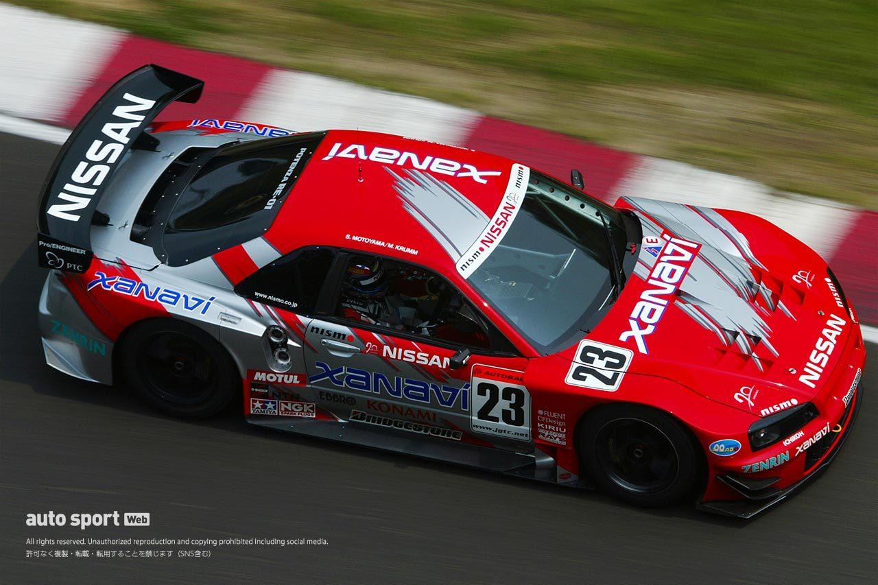 2003年JGTC ニッサンGT-R(R34)
