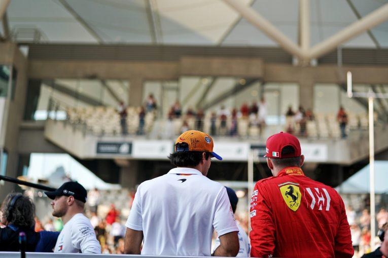 F1   フェラーリF1代表、異例の若手コンビ起用は「大きな賭け」と認める
