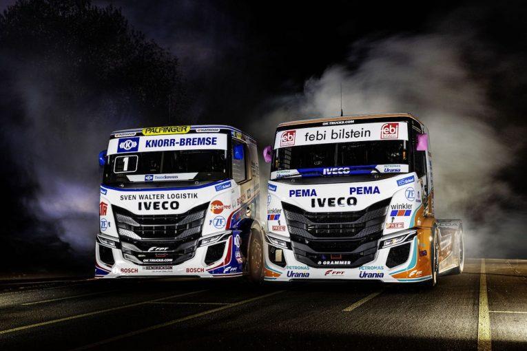 海外レース他 | ETRC:IVECOが2020年型『S-WAY Racing trucks』を投入。王者ハーン含む2チームに供給へ