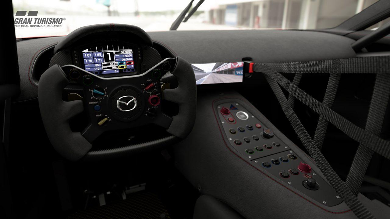 『マツダRX-VISION GT3コンセプト』登場。グランツーリスモSPORTにアップデート配信