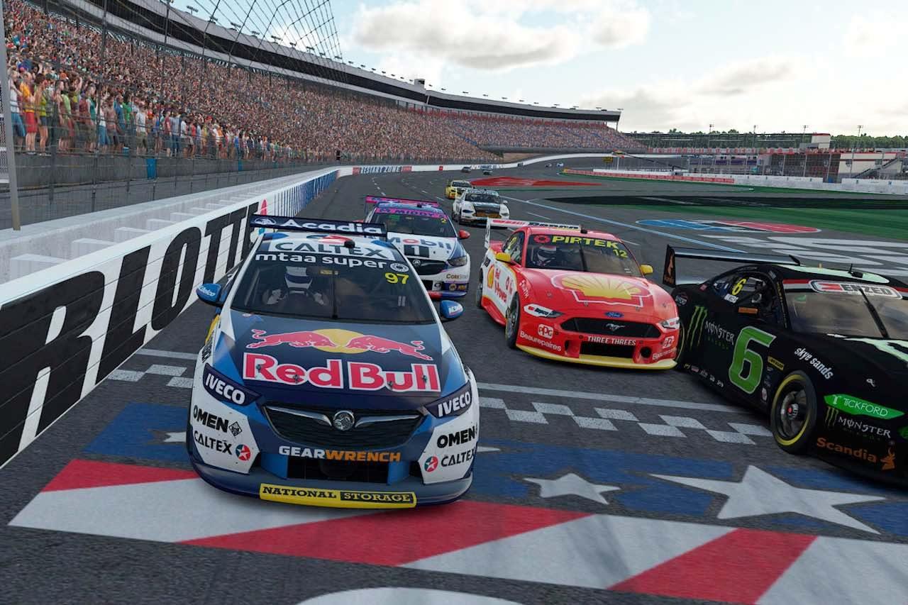 豪州SC:eスポーツ第7戦オーバル勝負は、NASCARの2大聖地を制したSVGがパーフェクト達成